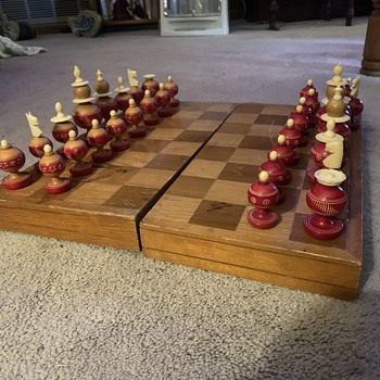 Chess set - Games