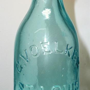 Voelker Soda Bottle