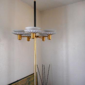 Stiffel Pole Lamp - Mid-Century Modern