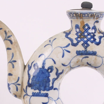 Chinese Teapot and Teacup  - Asian