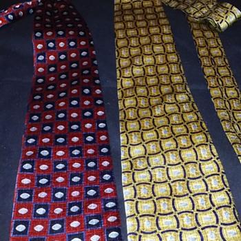 my favorite pair of silk ties - Accessories
