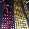 my favorite pair of silk ties