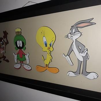 My foam Looney Tunes Art. - Comic Books
