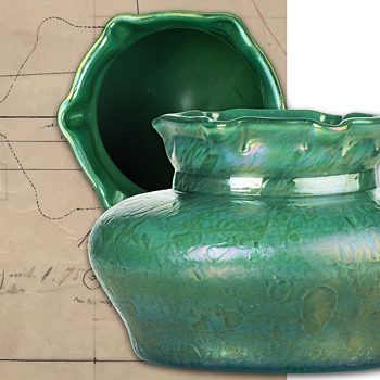 A new decor variant of Fritz Heckert's hot finished glass of the art nouveau period - Art Glass