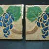 Pair of grueby grape tiles 6x6