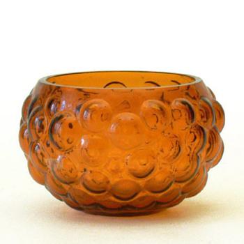 Bowl, Sirkku Kumela-Lehtonen (Kumela, 1960s) - Art Glass