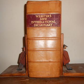 mine !!!  dictionary and book ends - Books