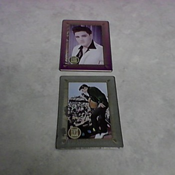 ELVIS TIN CARDS - Music Memorabilia