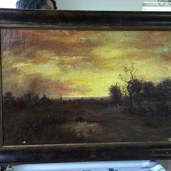 Landscape Oil painting - Fine Art