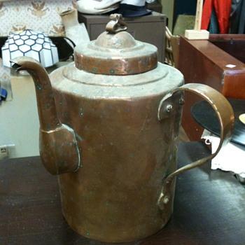 Large Copper Pot - Kitchen