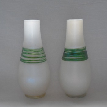 Kralik Corded Vases - Art Glass
