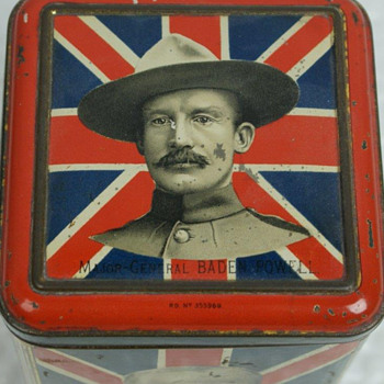Vintage British Boer War Tin From The Kenneth Griffith Collection - Military and Wartime