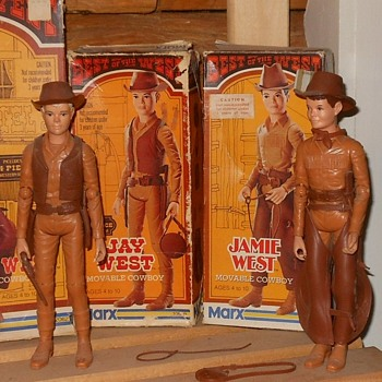 Jay and Jamie West in the Best of the West seires Boxes - Toys