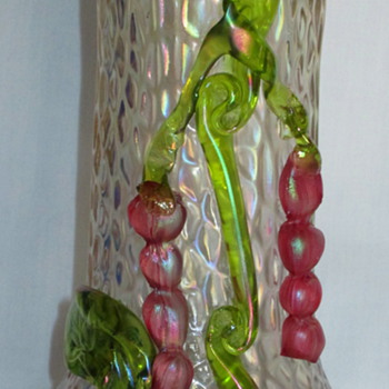 Kralik Martele Flower/fruit Glass Vase - Art Glass