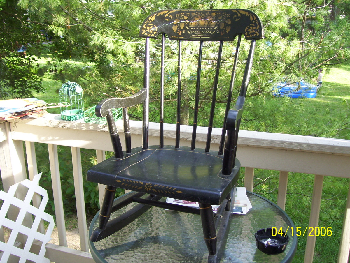 & nichol stone rocking chair | Collectors Weekly