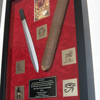 'The Ten Commandments' Sword & Sheath