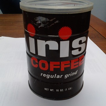 smart and final Iris regular grind coffee can