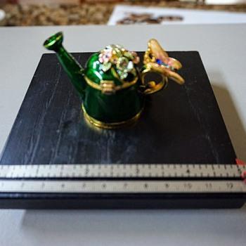 Watering Can Trinket Box - Fine Jewelry