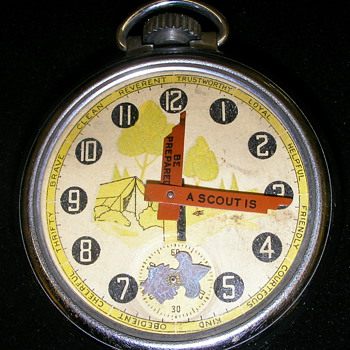 'Be Prepared' (Scouting) Pocket Watch By Ingersoll - Pocket Watches
