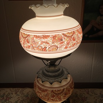 Hurricane Lamp - Lamps