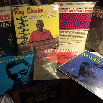 Sun Glasses, Ray Band - Records