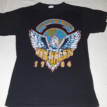 VAN HALEN concert T-shirt - Mens Clothing