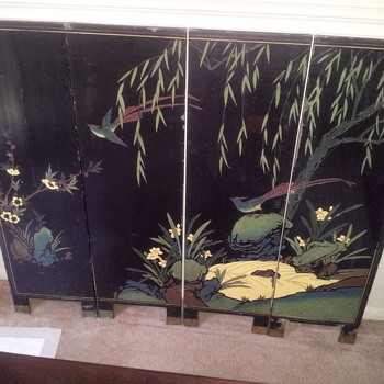 Asian Carved Screen
