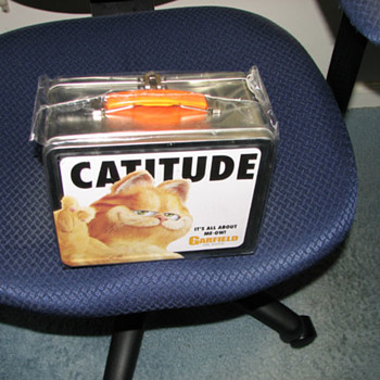 Garfield the Movie Metal Lunch box