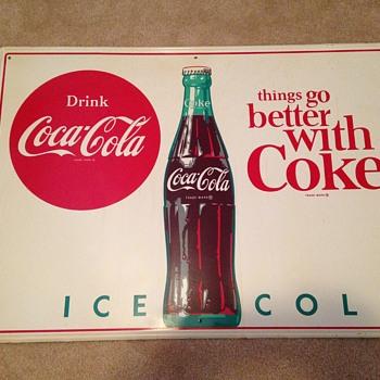 1964 Coca-Cola Sign - Coca-Cola