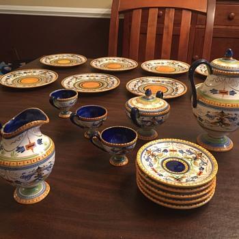 societa ceramica de colonnata Ceramics - Pottery
