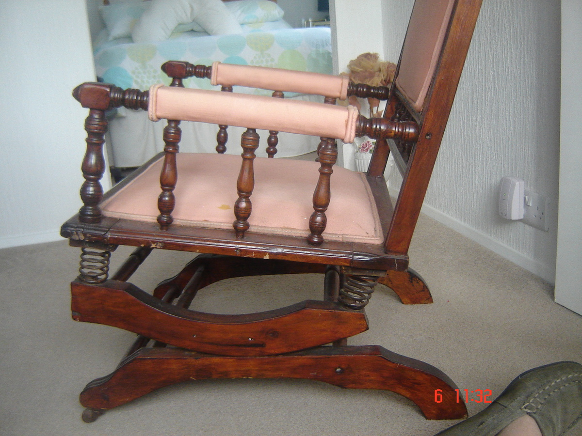 new concept 844ea be402 Dexter rocking chair with 6 spring suspension   Collectors ...
