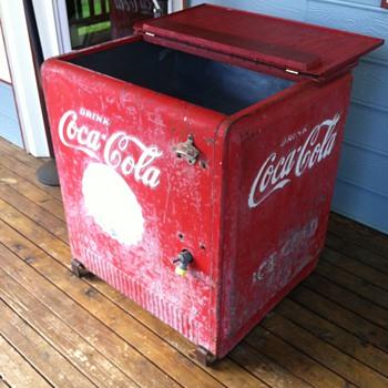 Coca Cola Chest Cooler (Standard Cavalier)