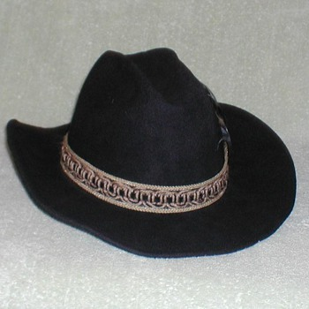 "Mens Black ""Maverick"" Hat - Hats"