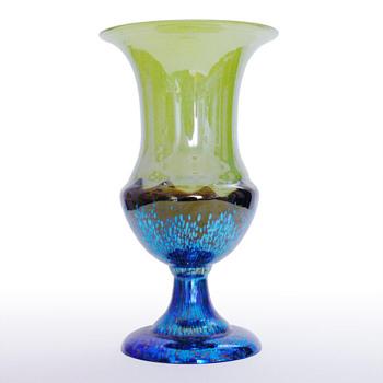 Lötz footlamp (Lötz Ausfuhrung No. 226) Made after 1918. - Art Glass