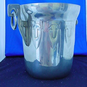 Vintage Viking Polished Pewter Ice Bucket - Kitchen