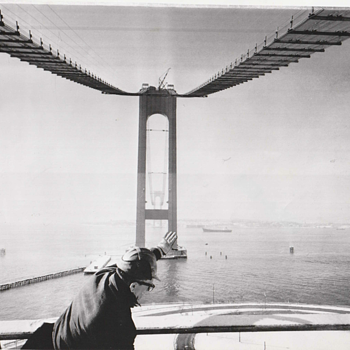 Spanning the Narrows waterway (1963) - Photographs