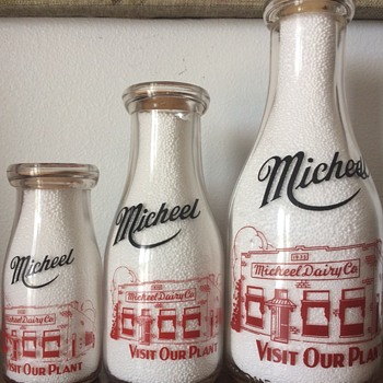 Micheel Dairy Co. - Bottles