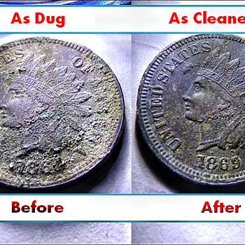 My Best Dug Coin: 1869 Indian Head (No Metal Detector, but I Have a Story.)  - US Coins