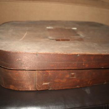 Primative Wood Box Pantry box??