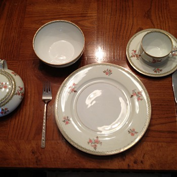Athens China Set - Auction Find - China and Dinnerware