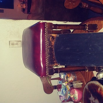 My Late Grandmothers shoe shine stool - Furniture