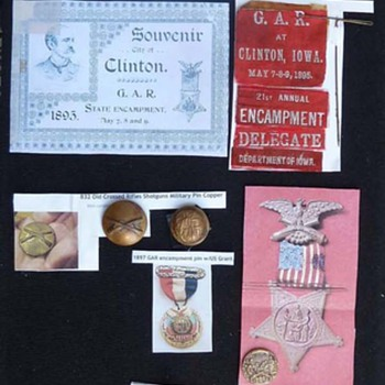 Colonel Alexander Fowler Buttons and Medals - Military and Wartime