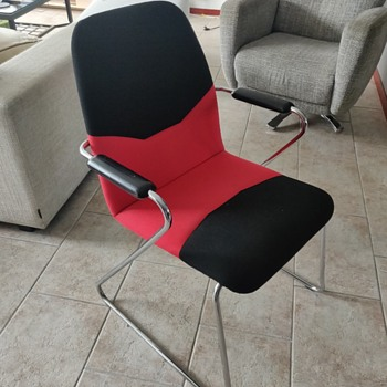 Unknown designer sled chair - Furniture