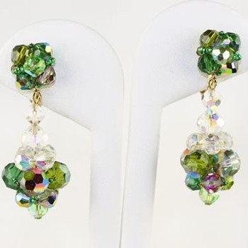 Vendome aurora borealis earrings