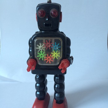 Robot from my Dad's old collection - Toys