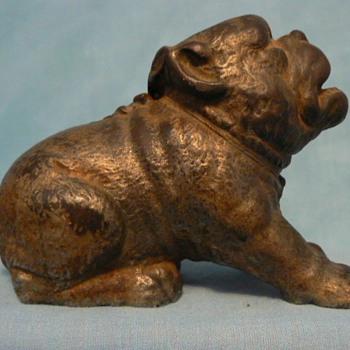 Cast iron Bulldog - Animals