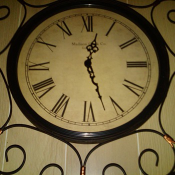 "30"" Madison Wall Clock - Clocks"