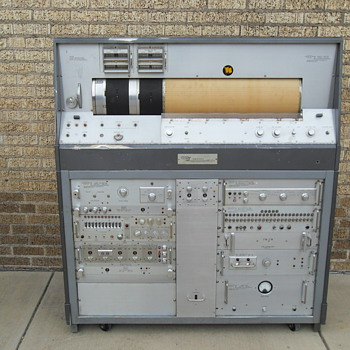 Vintage Seismograph SIE Co. Magnetic Recorder Type MR-12 Houston Texas - Electronics
