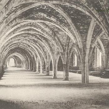 THE CELLARIUM FOUNTAINS ABBEY. - Postcards