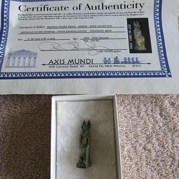 Ancient Egyptian Anubis Figure
